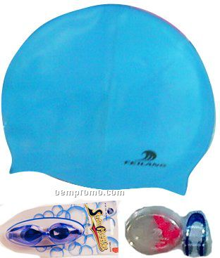 Swiming Caps/Glasses/Nose Clips/Earplugs/Swimfins
