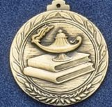 "2.5"" Stock Cast Medallion (Knowledge)"