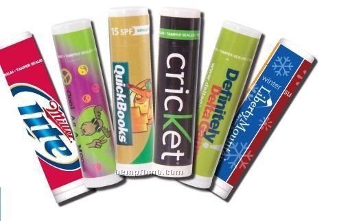 Cherries On Top Premium Lip Balm In White Tube