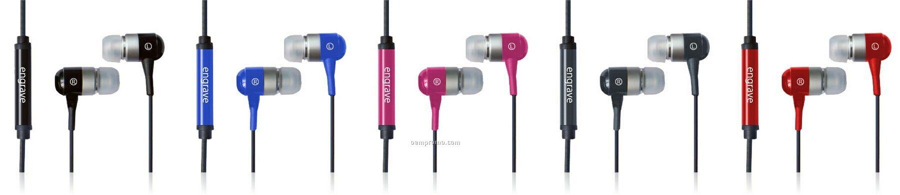 Metal Ear Buds (Model Ebm02)