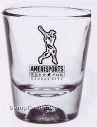 1.5 Oz. Baseball Sport Bottom Shot Glass