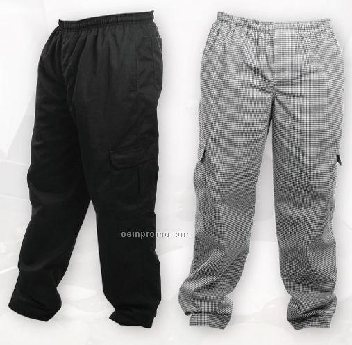 Elastic Waist Cargo Pants