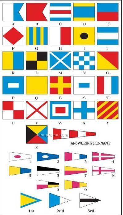 International Code Of Signals Set #10