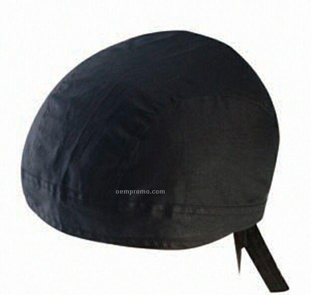Kerchief Bandanna Cap (Black)