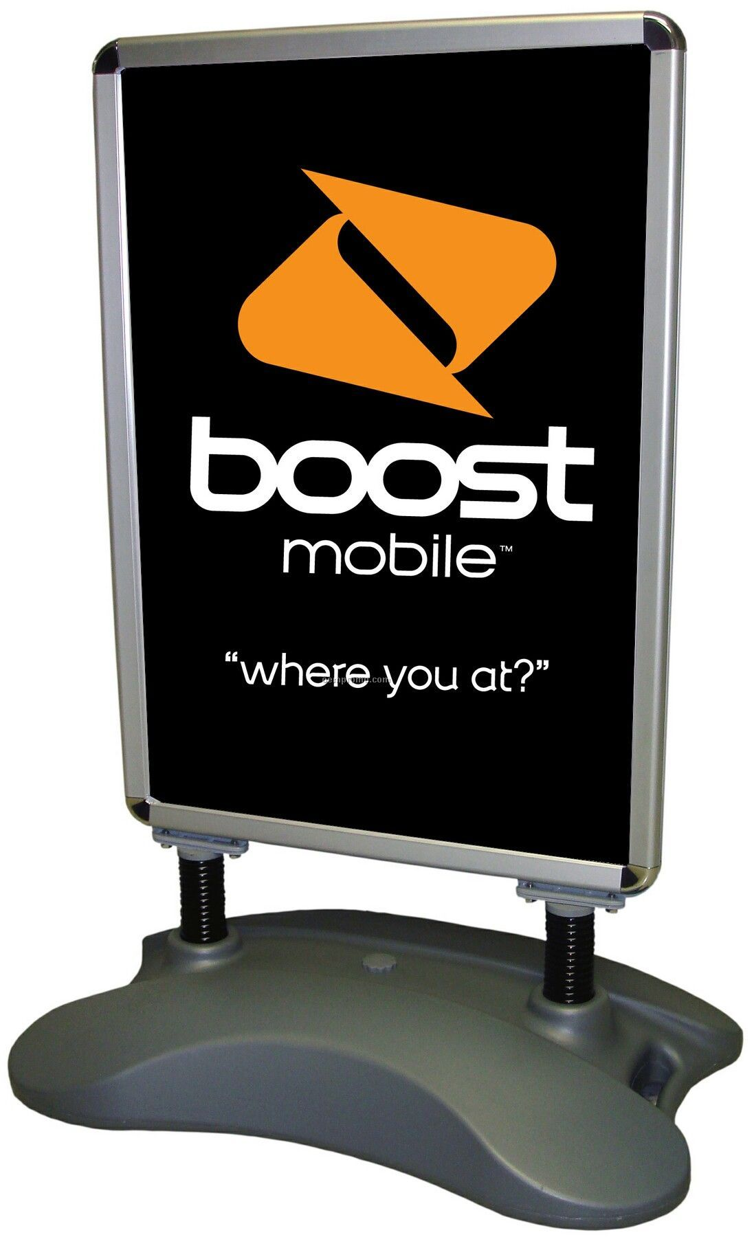 Banner Stand - Sidewalk Poster Stand W/ Double-sided Graphics (Sm)