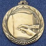 "2.5"" Stock Cast Medallion (Literature)"
