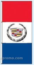 Stock Double Face Dealer Rotator Drape Flags - Cadillac