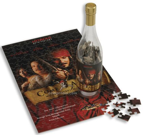 200-piece Puzzle In Bottle