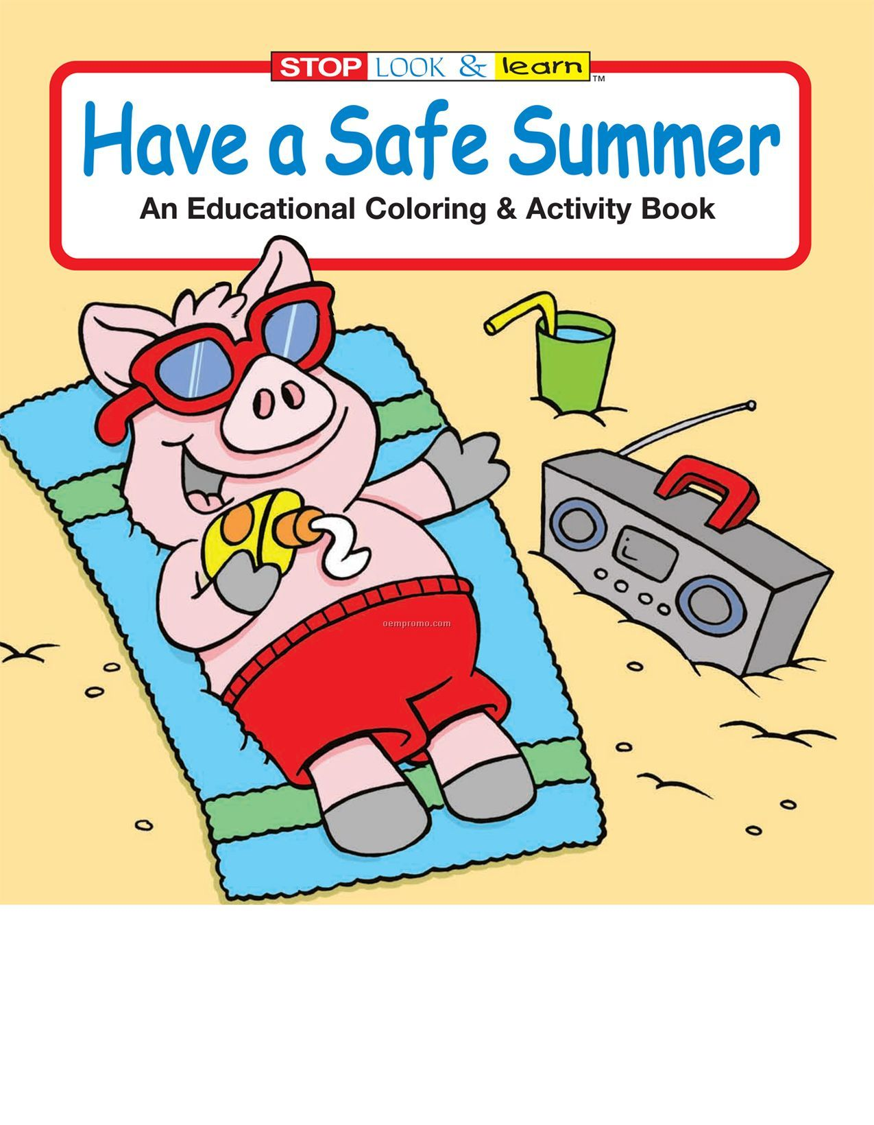 Water Safety Coloring Books For Kids Book Covers