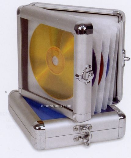 """Platinum 24 DVD/CD Case - 6-1/4""""X1-1/2""""X5-3/4"""" (Imprinted)"""