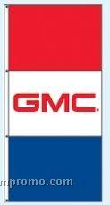 Stock Double Face Dealer Rotator Drape Flags - Gmc