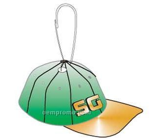 Baseball Cap Zipper Pull