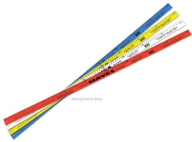 "Pvc 36"" Yardstick Ruler"