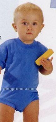 White Kiddy Kats Infant Crew Neck Bodysuit