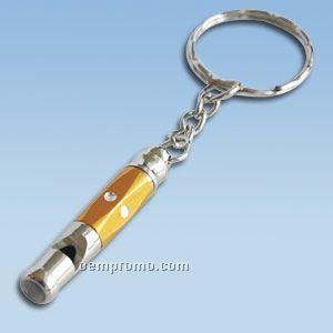 Aluminium Whistle Keychain