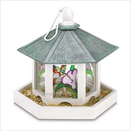 Garden Gazebo Bird Feeder
