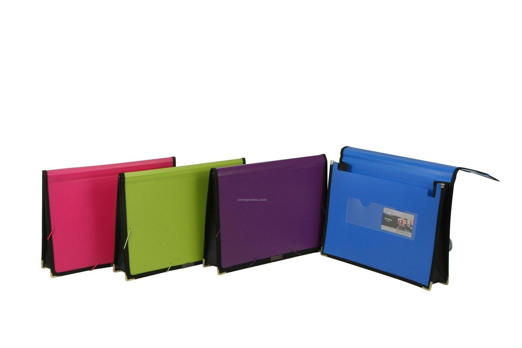 Neon Green Pocket Folder