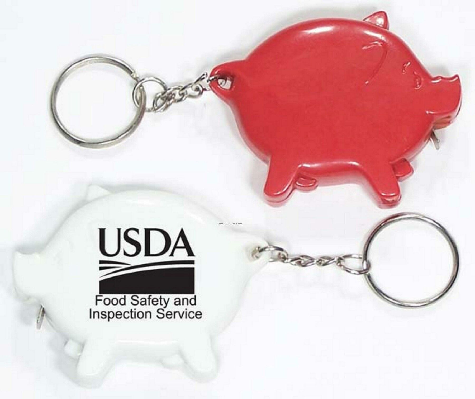 Pig Shape Tape Measure With Key Holder