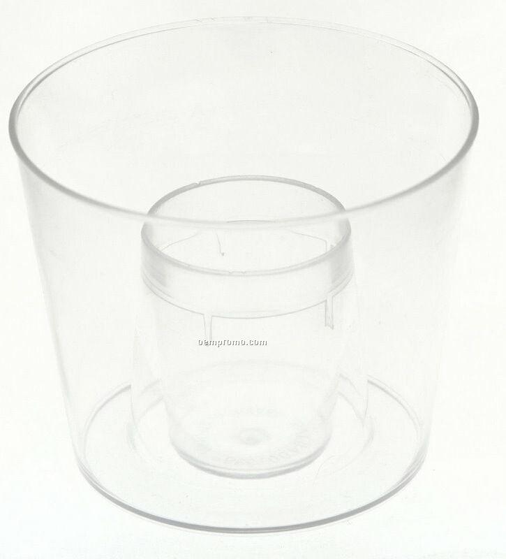Reusable Double Shot Bom Cup - Blank