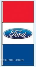 Double Face Dealer Rotator Drape Flags - Ford