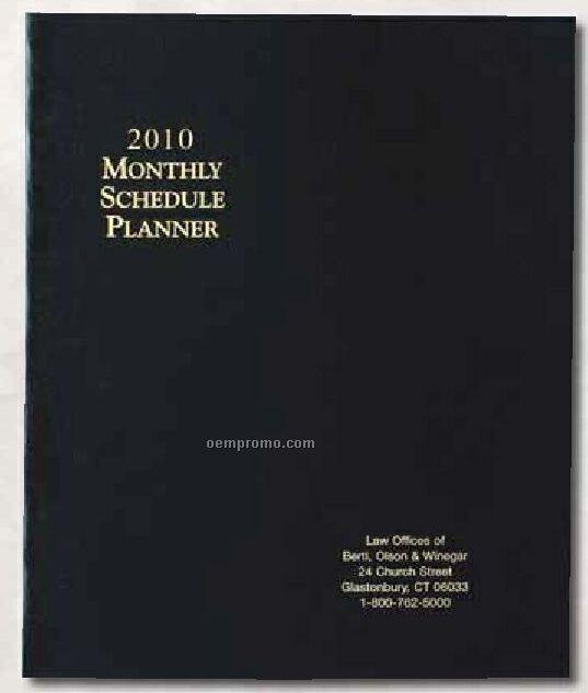 Monthly Schedule Deluxe Planner