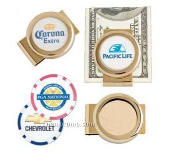 Authentic Poker Chip Money Clip