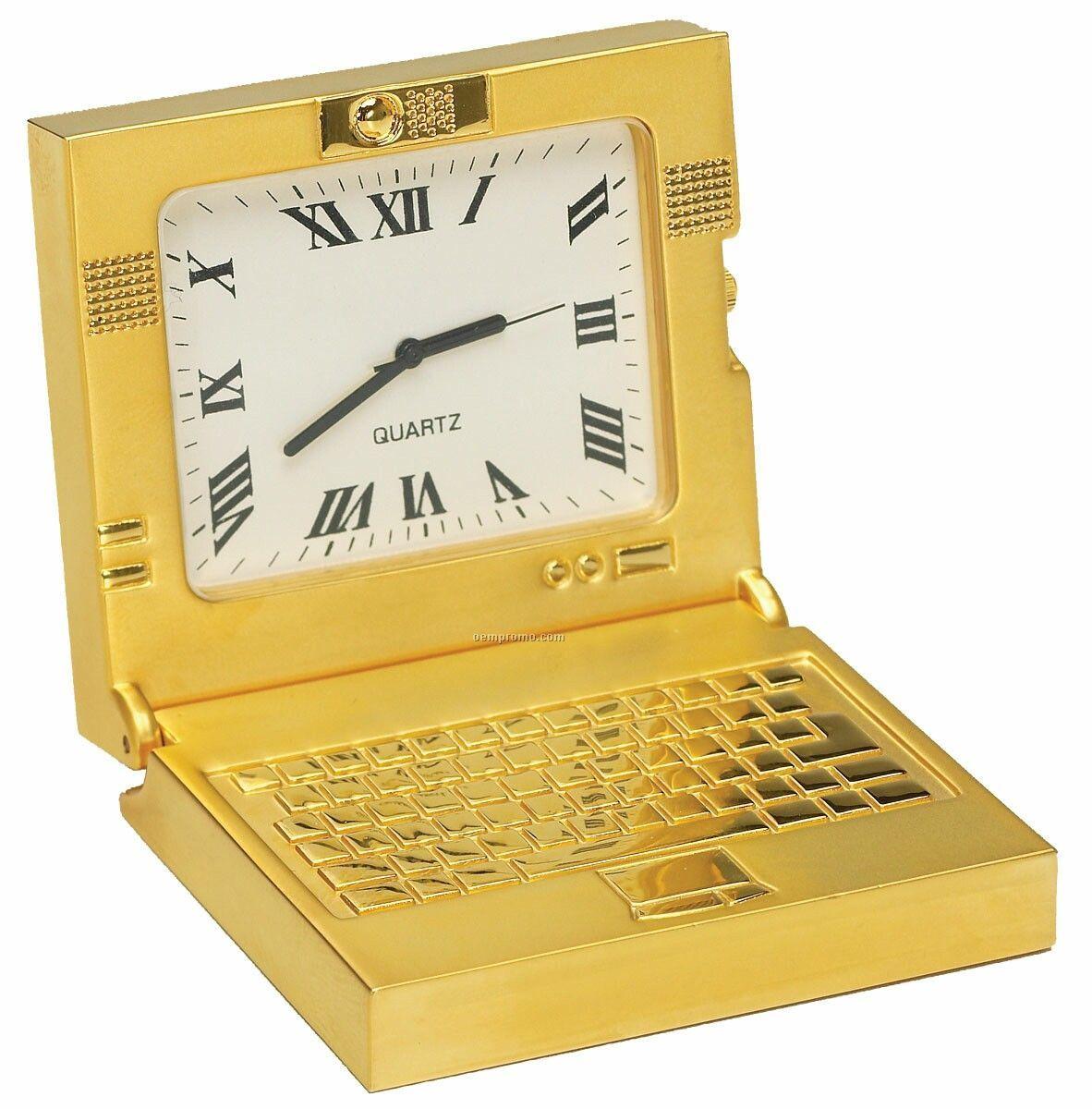Die Cast Laptop Clock
