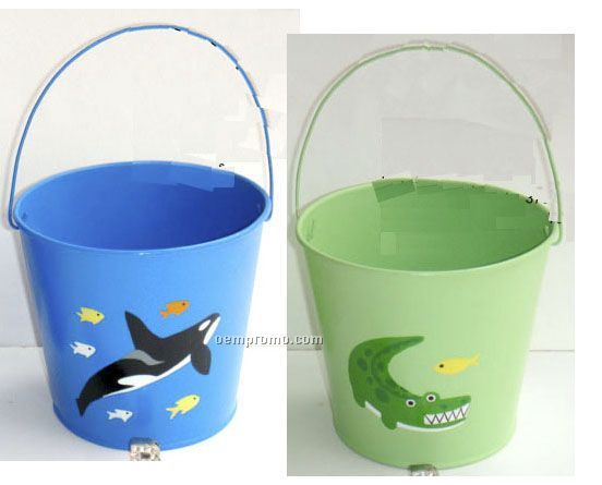 Iron Buckets With Lovely Patterns