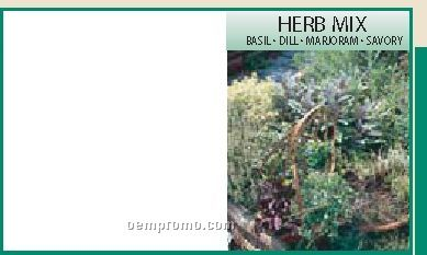 Mailable Series Herb Mix Seeds