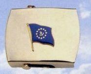Brass Money Clip (Commodore Flag)