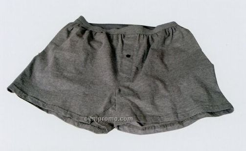 Men's 95/5 Cotton/ Lycra Knitted Boxer