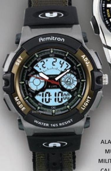 Armitron All Sport Alarm Chronograph Watch