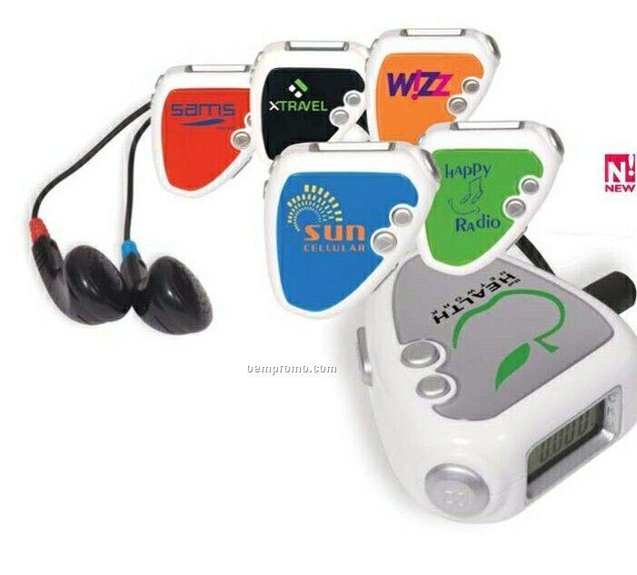 Audio Jogger Pedometer/ FM Radio