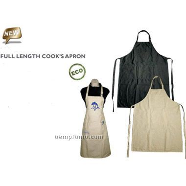 Eco Friendly Full Length Cook's Apron(Screen Printed)