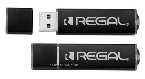 Temi Black USB Flash Drive (1 Gb)