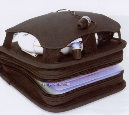"""CD Holder With Case - 6.25""""X6.25""""X2"""" (Imprinted)"""