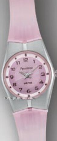 Armitron All Sport Ladies Alarm Calendar Pink Watch