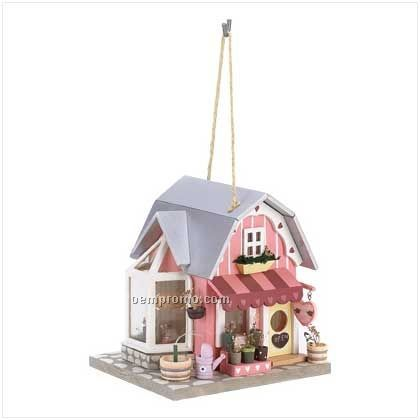 Fanciful Florist Birdhouse