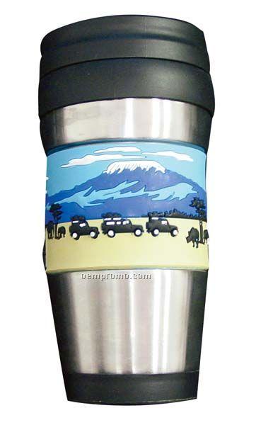 Flexo Tm 16 Oz. Stainless Steel Travel Mug