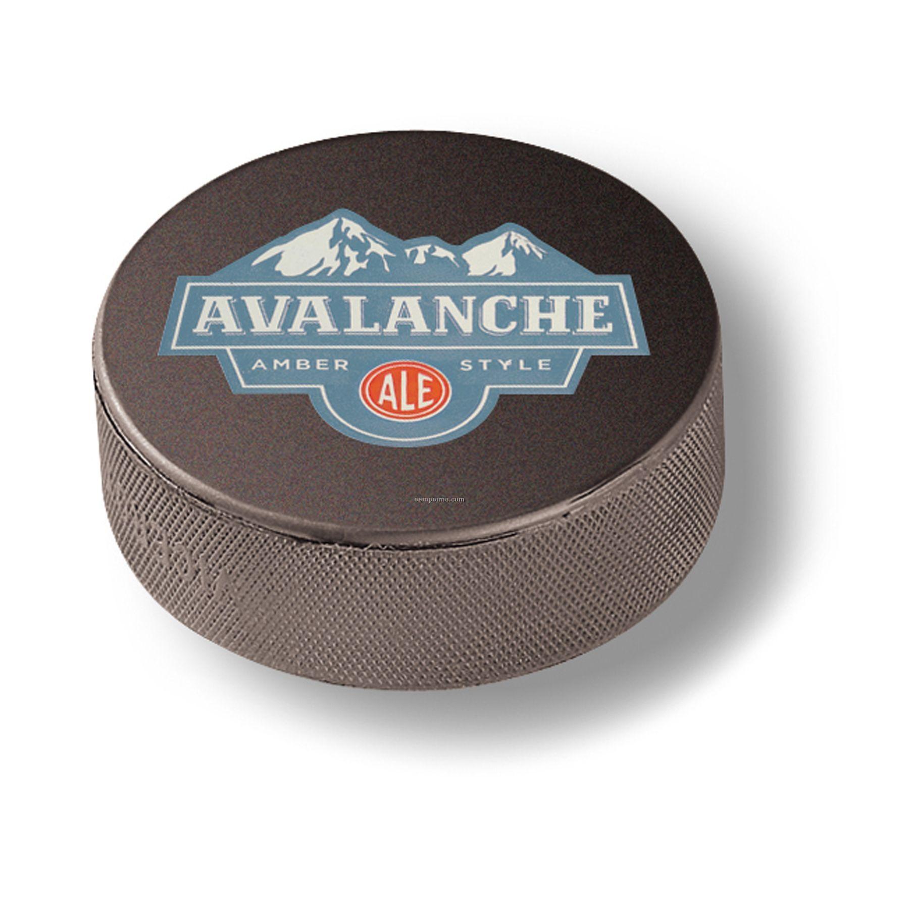 Official Size Souvenir Hockey Puck (2 Color)