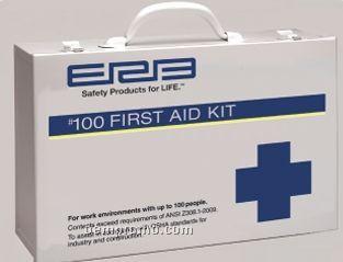Premium Ansi 100 Person Metal First Aid Kit