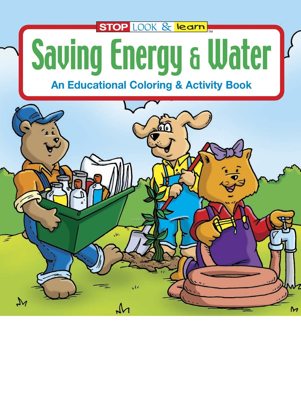 Saving Energy And Water Coloring Book
