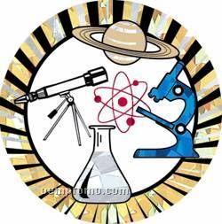 """Sunburst Hologram Mylar Insert - 2"""" Science"""