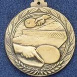 "2.5"" Stock Cast Medallion (Ping Pong)"