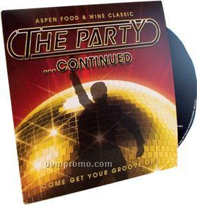 CD/DVD Packaging - Simple 4/4c Sleeve / Wallet