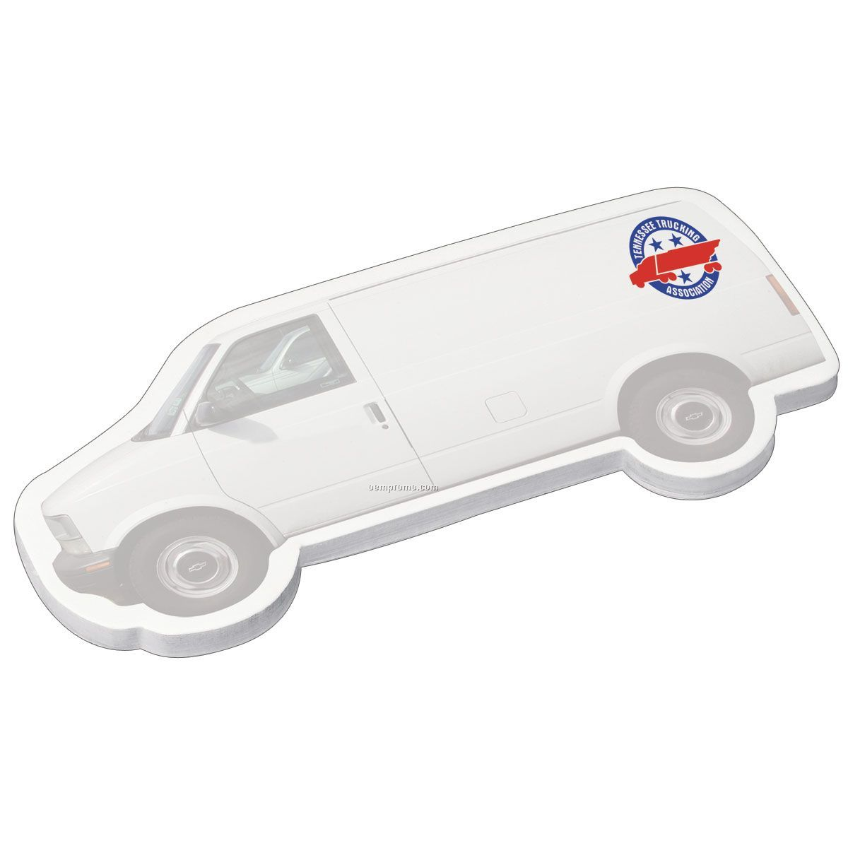 Earth Friendly Adhesive Notes/Van Shape - 25 Sheets