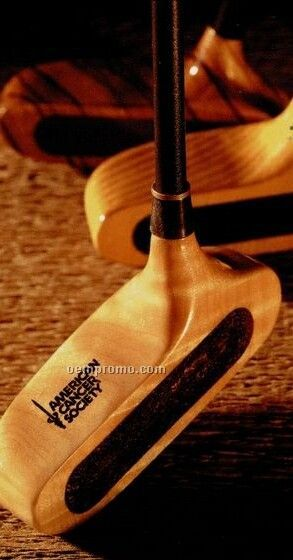 In 1 Hardwood Putter - Eagle W/ Graphite Shaft (Macassar Ebony)