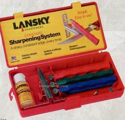Lansky Sharpening System Kit With Oil & Sharpener