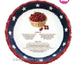Patriotic Pie Plate
