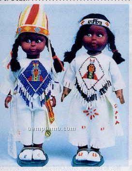 "10 1/2"" Indian Princess Doll"
